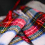 Scottish Plaid Neck Scarf